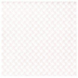 Scrapbook papír, Virágok és szívek, 30,5x30,5 cm