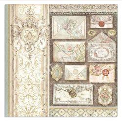 Scrapbook papír, Levelek, 31,5x30 cm