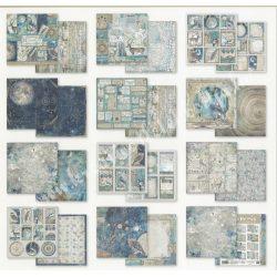 Scrapbook tömb, Cosmos, 30,5x30,5 cm, 10db/csomag