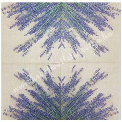 Szalvéta, levendula, 33x33 cm (8)