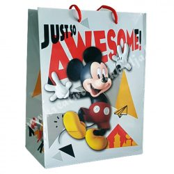 Ajándéktasak, Mickey, 18x9,5x23 cm