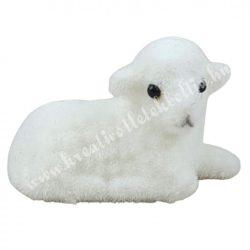 Flokkolt fehér bárány, 3,5 cm