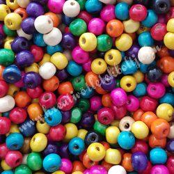 Fagyöngy, színes, 0,8X0,7cm
