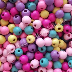 Fagyöngy, színes, 1x0,9 cm