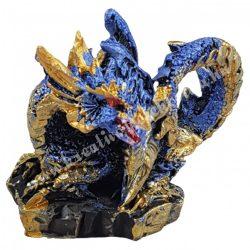 Sárkányvilág, Kristálybarlang Leye, kék, 5x4x4,5 cm