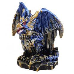 Sárkányvilág, Kristálybarlang Leye, kék, 4,5x5x5,5 cm