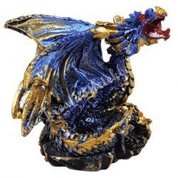 Sárkányvilág, Kristálybarlang Leye, kék, 4,5x3,5x4,5 cm