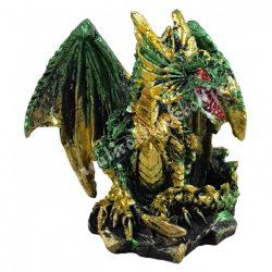 Sárkányvilág, Kristálybarlang Leye, zöld, 4,5x4x4 cm