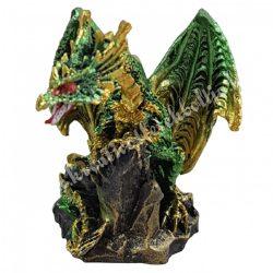 Sárkányvilág, Kristálybarlang Leye, zöld, 4,5x4x5,5 cm