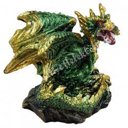 Sárkányvilág, Kristálybarlang Leye, zöld, 4,5x4x4,5 cm