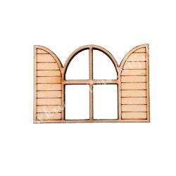 Ablak, szárnyas, 6,2x4,2cm
