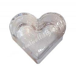 Mécsestartó szív forma