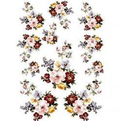 Rizspapír, Tavaszi virágok, A4 (R0162)
