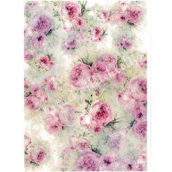 Rizspapír, Angol rózsa, (R1673)