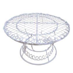 Fém asztal 10x5,5 cm