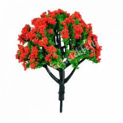 Piros virág fa, 8 cm