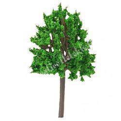 Sötétzöld fa, húzott gömb forma, 6 cm