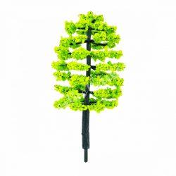 Világoszöld fa, 9 cm
