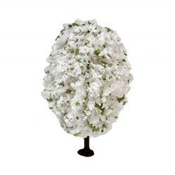 Fehérvirágos fa, 4,5 cm