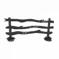 Kerítés, fekete