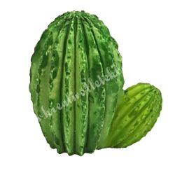 Mini kaktusz, 3x3,5 cm