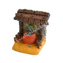 Mini kút tetővel