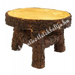 Mini kerti asztal, barna