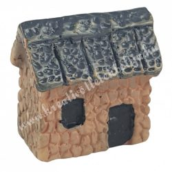 Mini házikó, capuccino, 2x2 cm