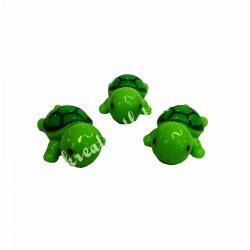 Mini teknős, sötétzöld