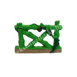 Mini kerítés, zöld