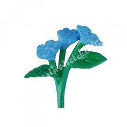 Mini virágcsokor, kék