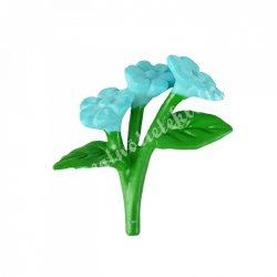 Mini virágcsokor, világoskék