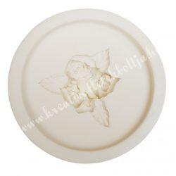 Marcipán, fondant mintázó, szilikon, rózsák, 3,5 cm