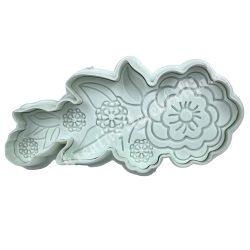 Marcipán kiszúró, teltvirág, 95mm