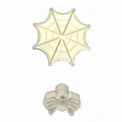 Marcipán és fondant mintázó, pókháló, pók