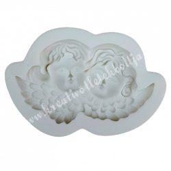 Marcipán, fondant mintázó, szilikon, angyalkák, 6x3,5 cm