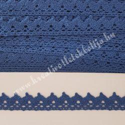 Csipke 35., kék, 2 cm