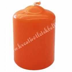 Adventi gyertya, narancssárga, 6 cm