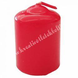 Adventi gyertya, piros, 6 cm