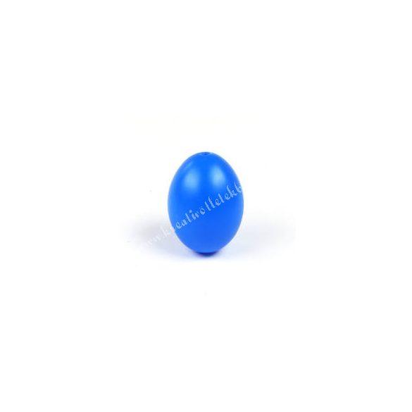 Műanyag tojás, sötétkék
