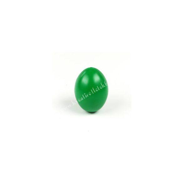 Műanyag tojás, sötétzöld
