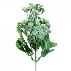 Apró virágok, zöld, kb. 20 cm