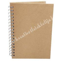 Papírmasé füzet - A5-ös, sima