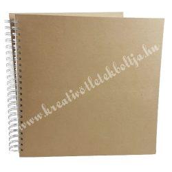 Papírmasé album - sima, 30x30 cm