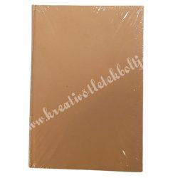 Papírmasé füzet - vonalas, 15x21 cm