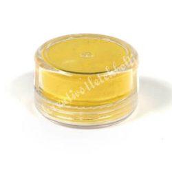 Műgyanta effekt pigment színező por, 3 g - gyöngyház hatású citrom