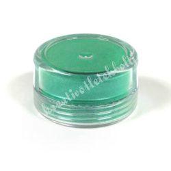 Műgyanta effekt pigment színező por, 3 g - gyöngyház hatású smaragdzöld