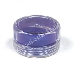 Műgyanta effekt pigment színező por, 3 g - gyöngyház hatású szilva