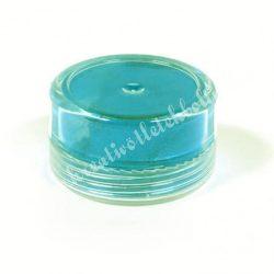 Műgyanta effekt pigment színező por, 3 g - gyöngyház hatású vízkék