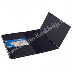 CREATIVE KIDS SCRAPBOOK album - 30x30 cm, fekete